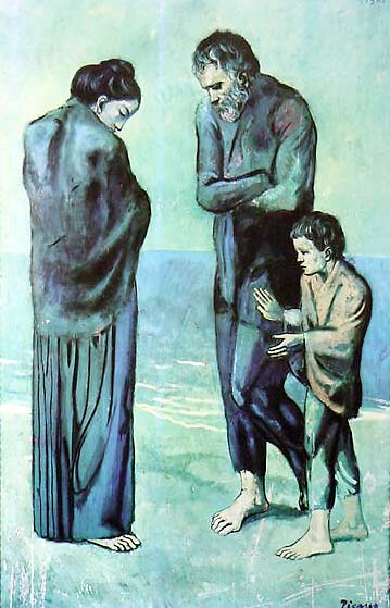 The Tragedy by Pablo Picasso for Sale - New Zealand Art Prints