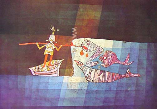 Sinbad The Sailor By Paul Klee New Zealand Fine Prints