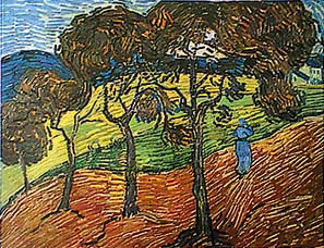 Farmer In The Field By Vincent Van Gogh For Sale New