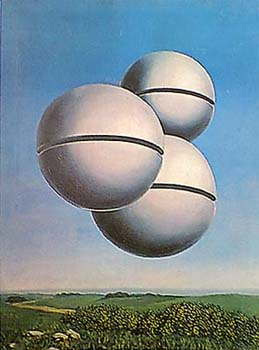 Voice Of Space By Rene Magritte New Zealand Fine Prints