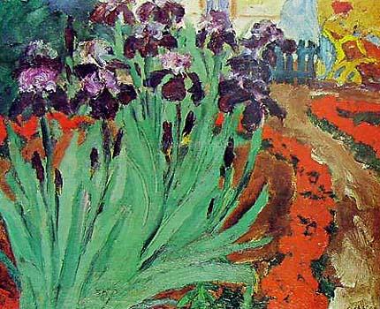 Famous Flower Garden Paintings
