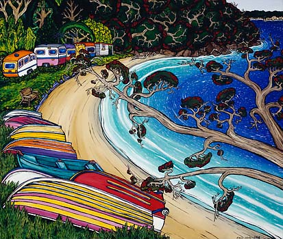 In the Shade by Fiona Whyte: New Zealand Fine Prints