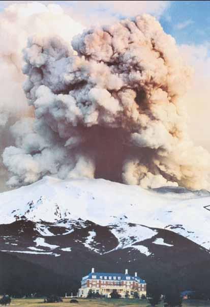 Mount Ruapehu Eruption By Tim Whittaker New Zealand Fine