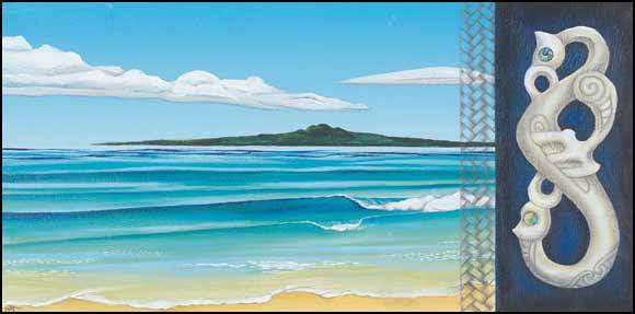 Rangitoto by Marianne Thomson