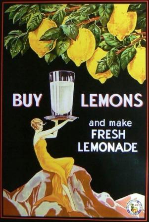 Buy Lemons Vintage Nz Advertising Poster New Zealand Fine