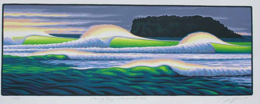Morning Glory - Whangamata Bar by Tony Ogle for Sale - New Zealand Art ...