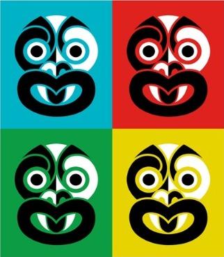 Pop Tiki By Greg Straight For Sale New Zealand Art Prints