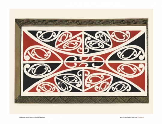 Maori Patterns Design 40 New Zealand Fine Prints New Maori Patterns