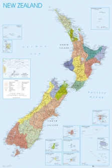 NZ Maps for Sale | Prints, Wall Posters, Vintage & Antique Charts