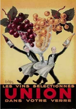 Union Vintage French Wine Poster