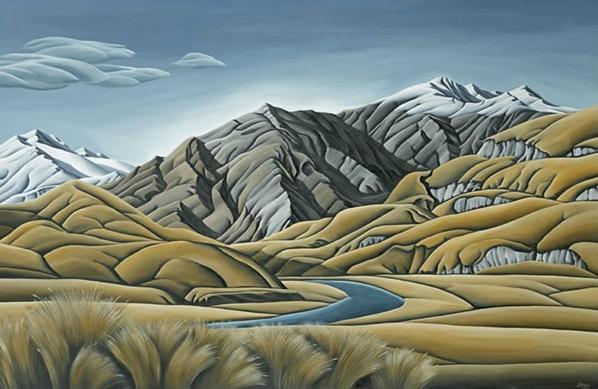 aspiring land canvas print by diana adams new zealand