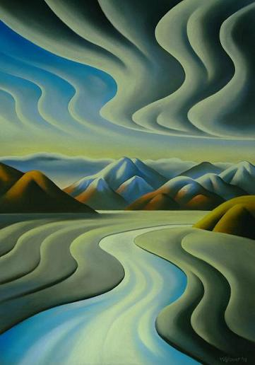 Norwest Wind By Mike Glover New Zealand Fine Prints
