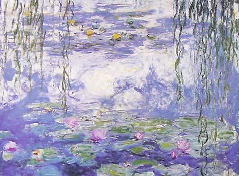 Waterlillies By Claude Monet For Sale New Zealand Art Prints