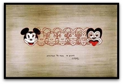 Mickey to Tiki by Dick Frizzell: New Zealand Fine Prints