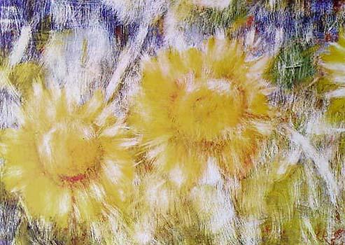 Sunflowers By Christian Rohlfs New Zealand Fine Prints