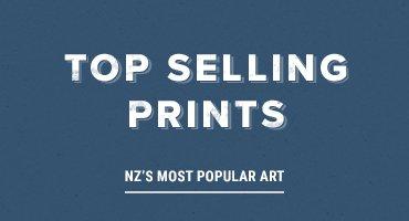 Map Of South Ireland New Zealand.New Zealand Fine Prints